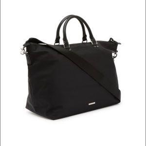 Rebecca Minkoff BLACK Solstice Mott Nylon Tote Bag